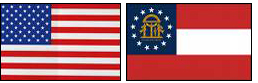 US & GA Flags