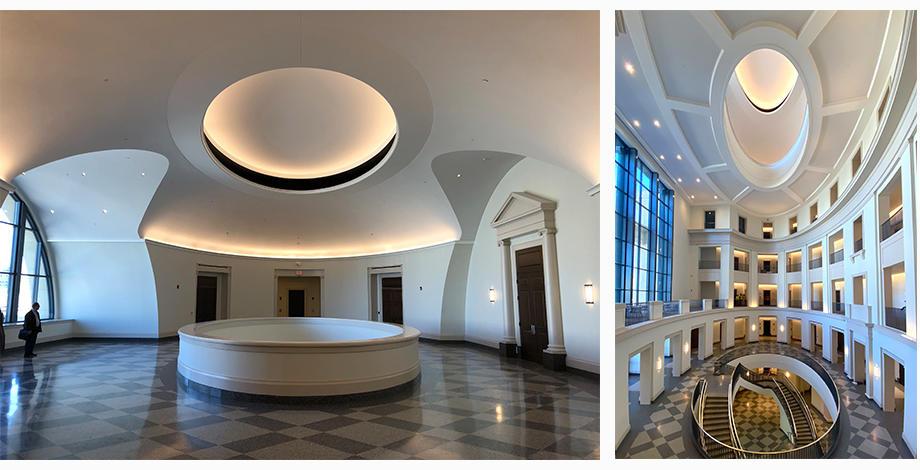 Photos inside Nathan Deal Judicial Center