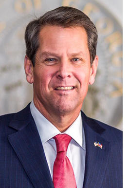 Photo of Governor Brian Kemp