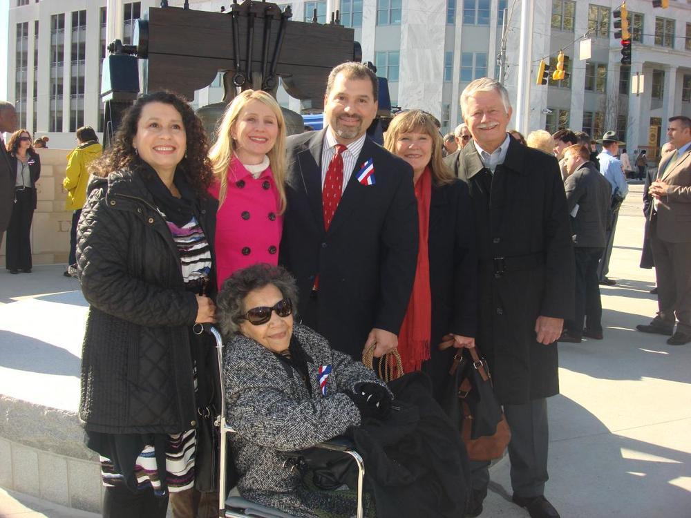 Liberty Plaza Dedication 1-16-15